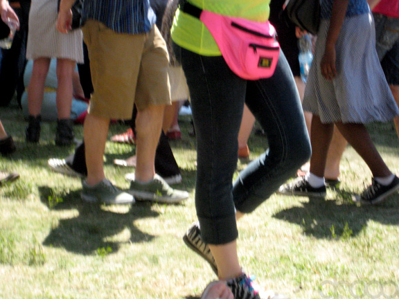 8. The ever terrible fanny pack.