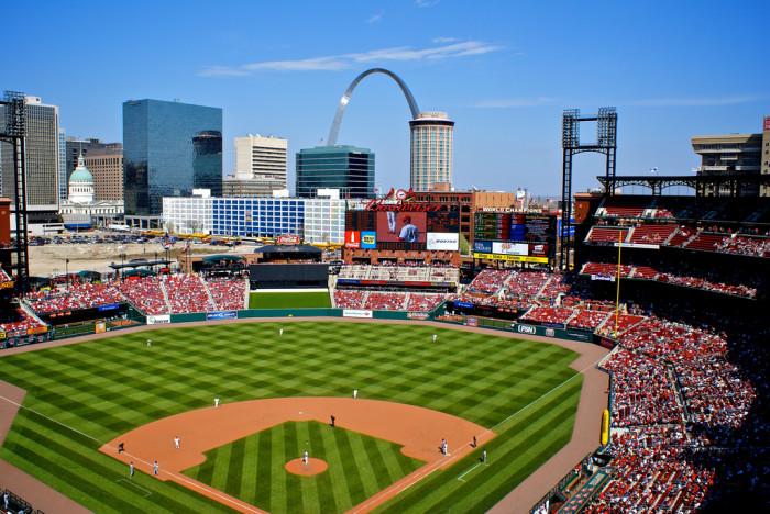 8.Busch Stadium, St. Louis