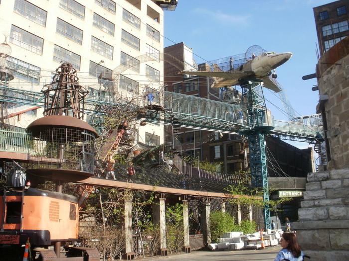7.	Feel like a kid again at the City Museum.