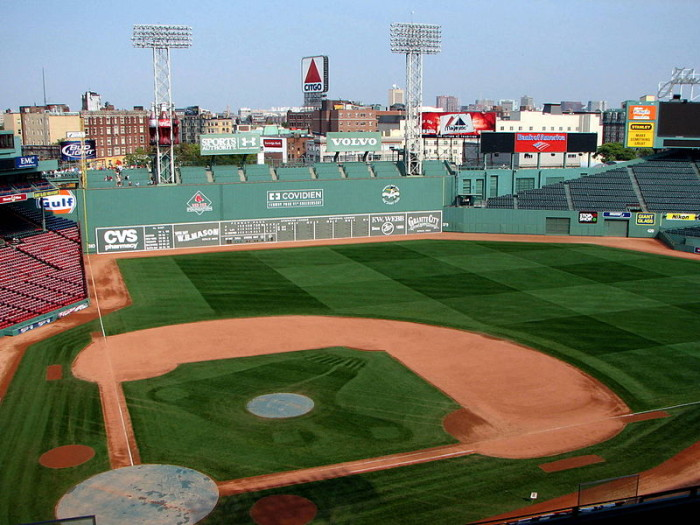 This is the famous Fenway Park in Boston.