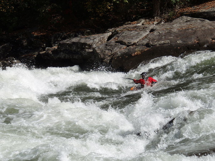 2. Go whitewater rafting.
