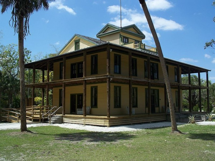 4. This Florida state park was once home to a unique community.
