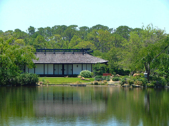 7. The Morikami Museum and Japanese Gardens, located in Delray Beach, is the only museum in the country dedicated purely to the living culture of Japan.