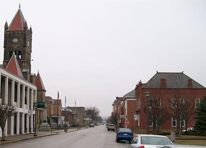 3. New Martinsville, Wetzel County