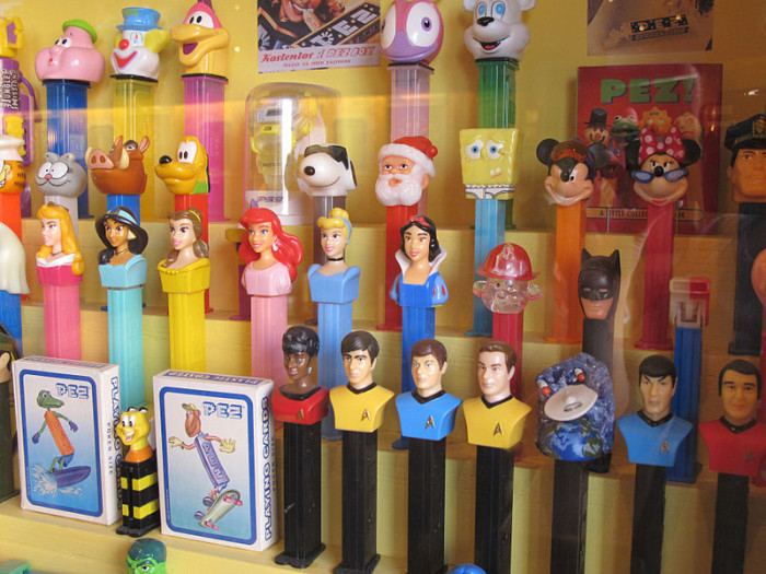11.  Connecticut is where the Pez dispenser was  invented.