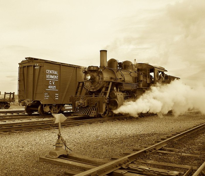 6. Strasburg Rail Road #89 was built by the Canadian Locomotive Company in 1910.