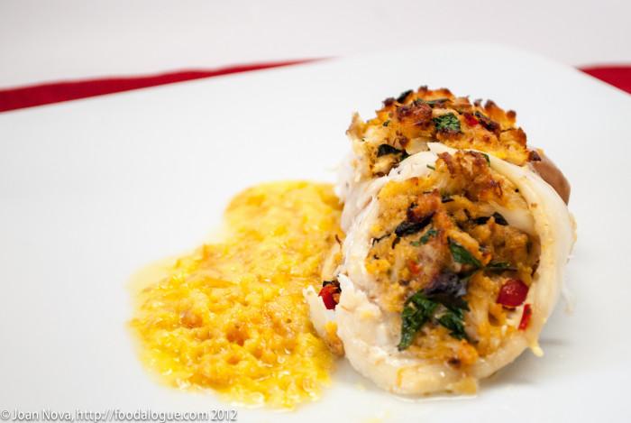 10. Crab Stuffed Fish