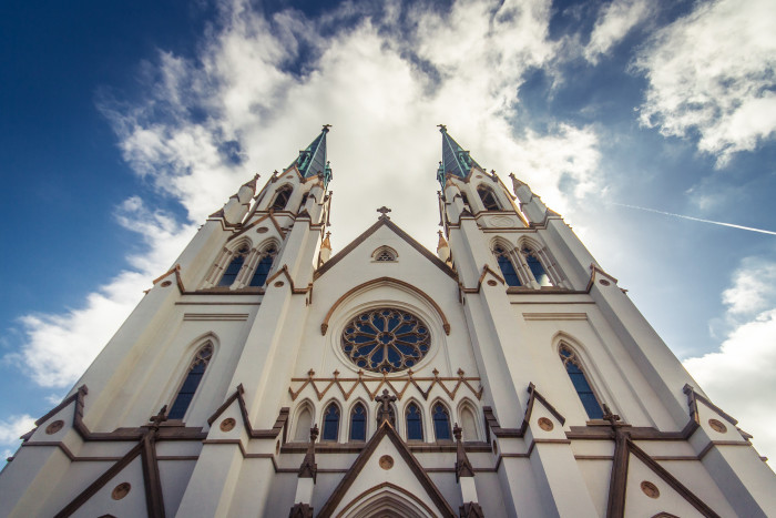 7. The Cathedral of St. John the Baptist—222 E Harris St, Savannah, GA 31401