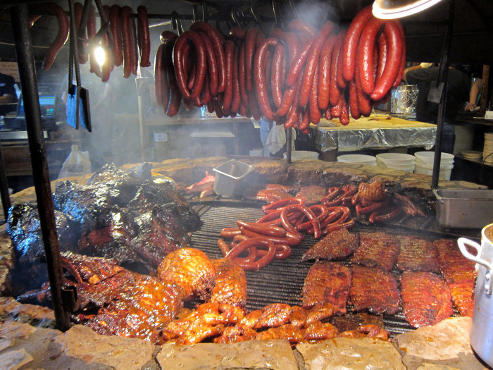 2. Eat some good Texas barbecue.