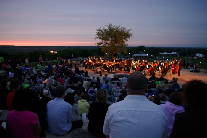 6. ...and then taking in the Flint Hills Symphony.