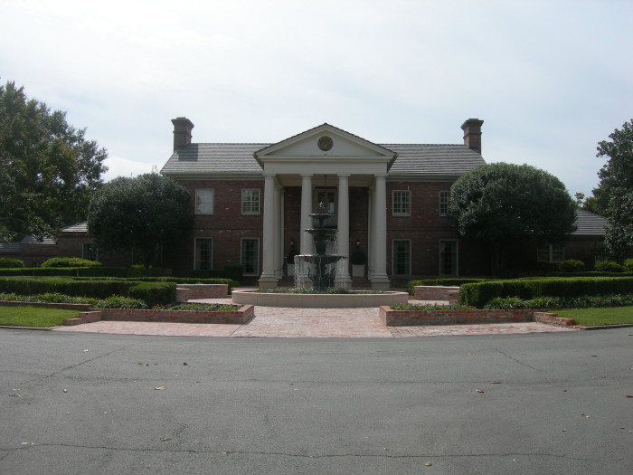 11. Around 2000, when Mike Huckabee was governor of Arkansas, the governor's mansion was being renovated. So, what does a respectable Arkansan do? He moves a triplewide trailer house onto the property until the renovations are complete.