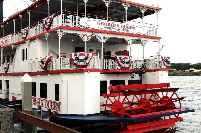 8. Cruise the river in Savannah