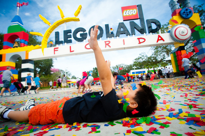 6. Make your kids' dreams come true and try out a new theme park.