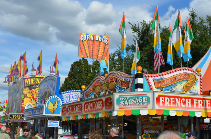 5. State fairs and carnivals