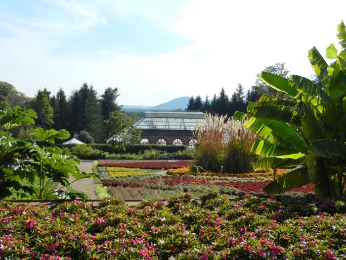 9. Feel like royalty at Biltmore Gardens.