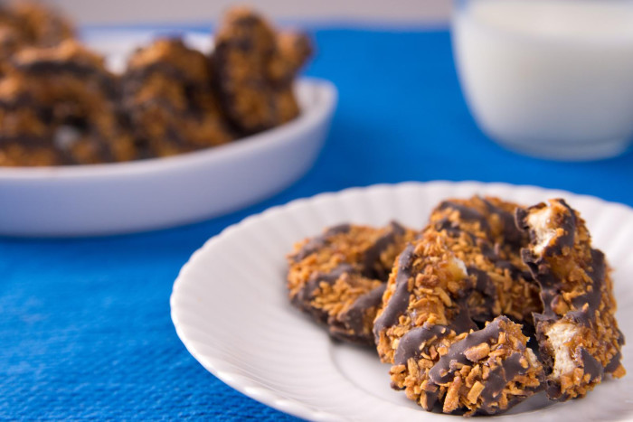 8. Girl Scout Cookies
