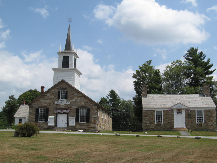 7. This charming church in Chesterfield will transport you right back to colonial New Hampshire.