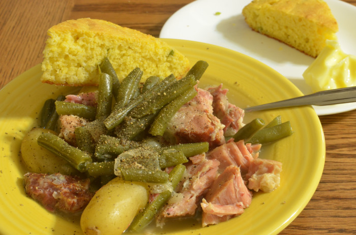 3. Ham and Green Beans