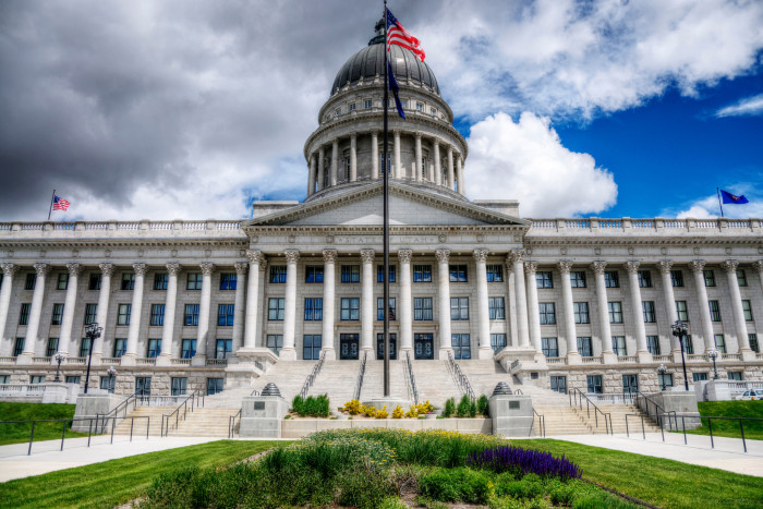7. Utah State Capitol