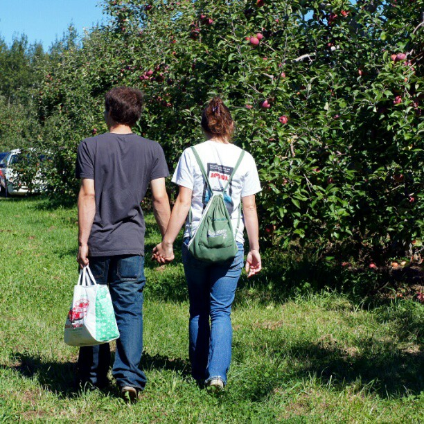 10. You will need to go apple picking in the fall, and you will need to pose for an absurd number of pictures.