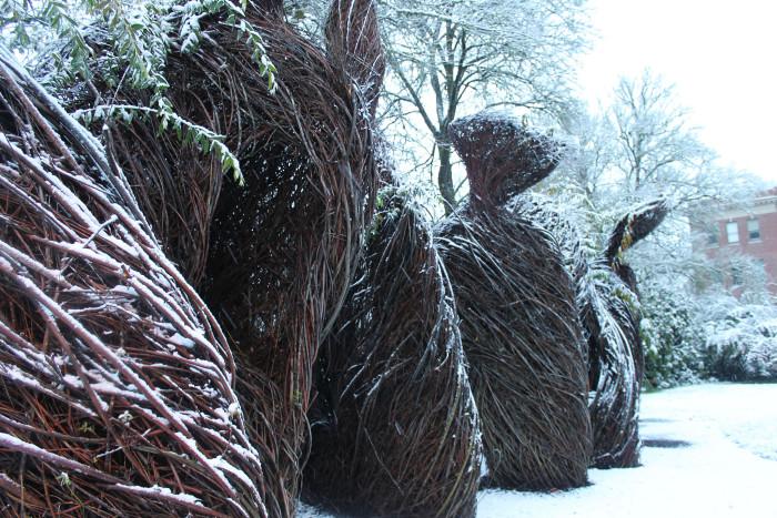 11. Oregon State University 'Pomp and Circumstance' sculpture