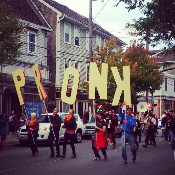 9. Pronk: Providence Honk Festival, Providence