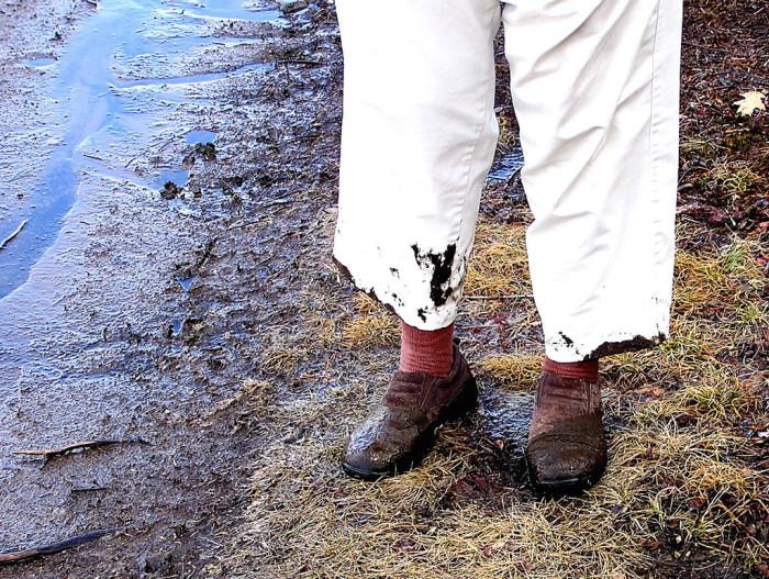 13.  Mud season