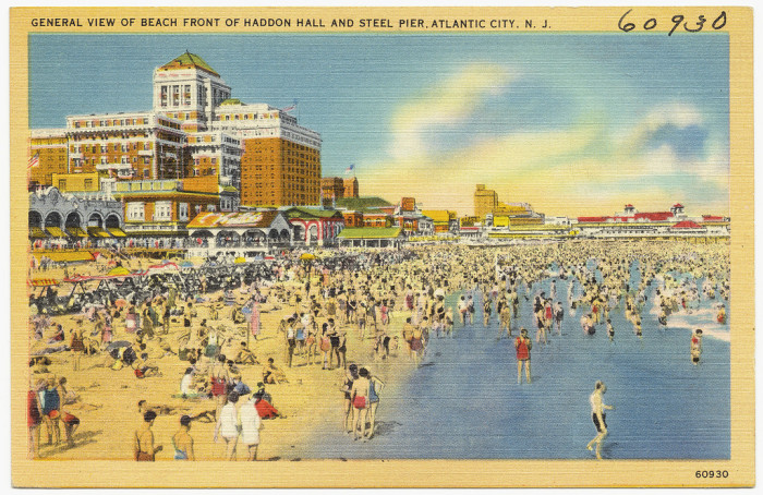 17. The first picture postcards in the United States were printed in 1893 and featured color views of Atlantic City.