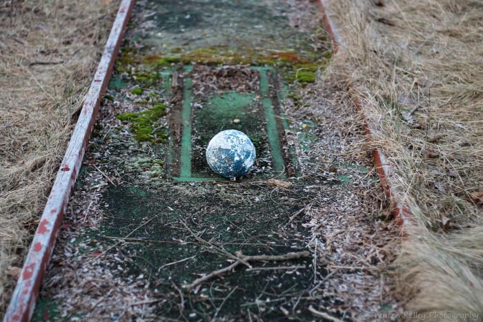 8. No more mini golf here.