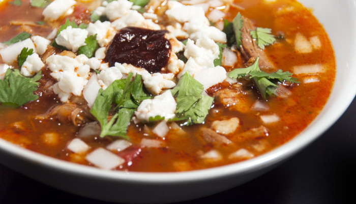 7. Another food option on a more traditional route is posole or hominy stew, which is featured in both Mexican and Indigenous cuisines.