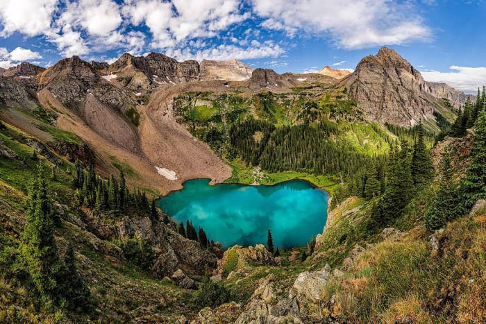 Blue Lakes, San Juan Mountain, Colorado