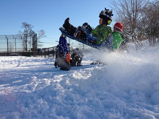 7. Snow days are always fun.