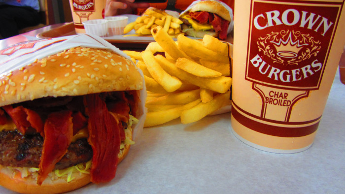 6. Deciding which burger joint to patronize.