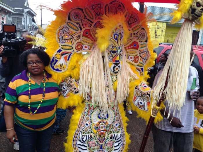 9. How early you started working on your Mardi Gras costume