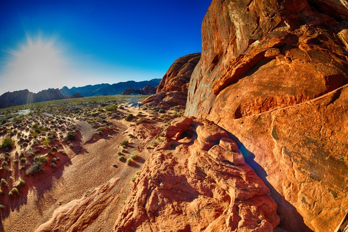 9. You'll be shocked while exploring other state parks because Nevada's state parks are the very best! Pictured: Valley of Fire State Park