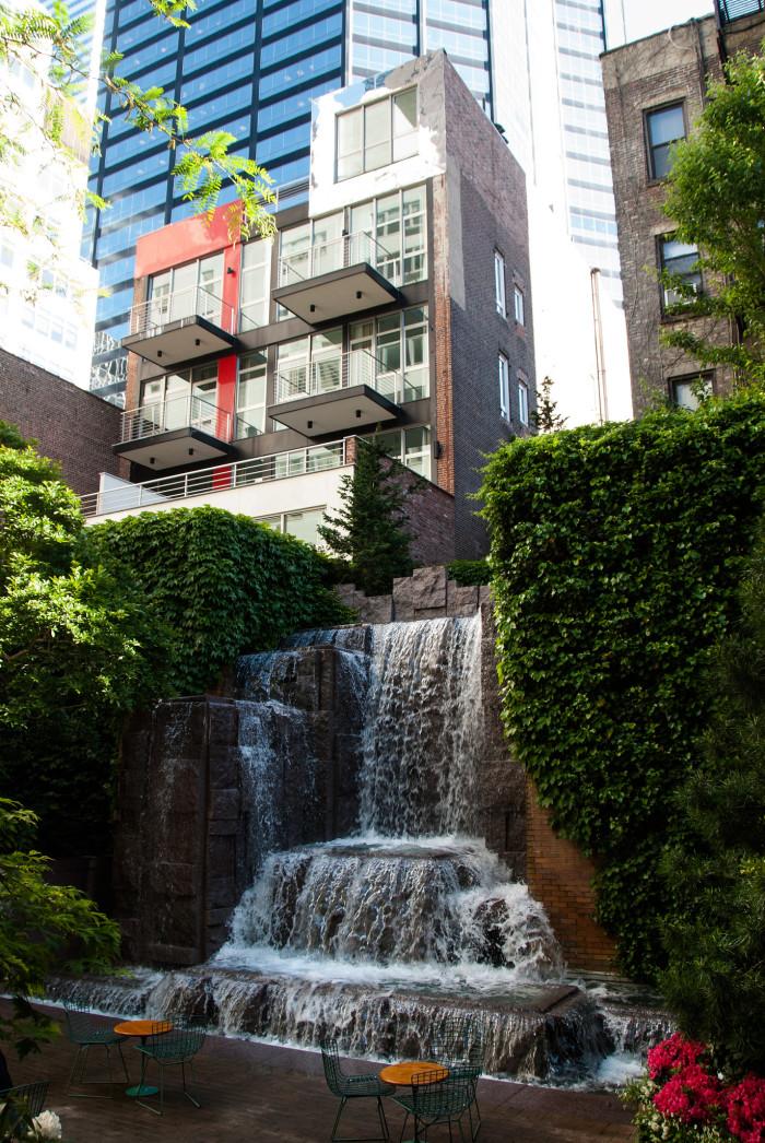 6. Greenacre Park, New York City