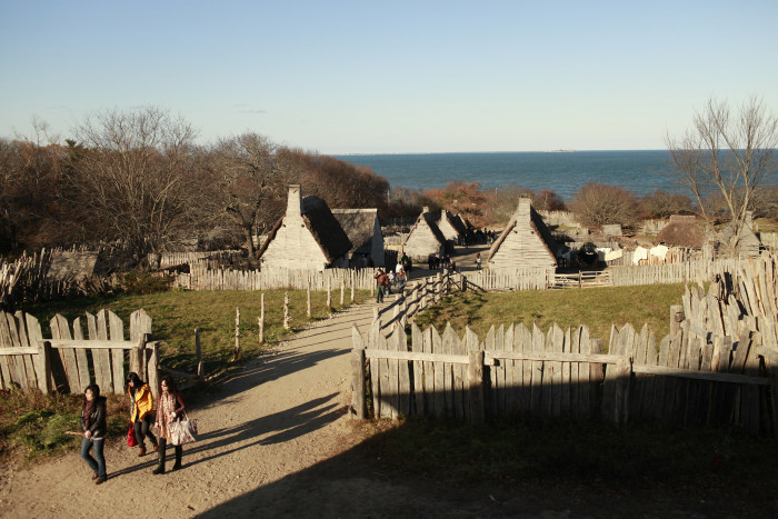 9. Plimoth Plantation (Yes, that's how they spell Plymouth)
