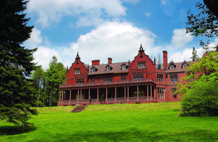 1. Ventfort Hall Mansion and Gilded Age Museum in Lenox. This historic, Jacobean-style mansion is the perfect backdrop for a dramatic, period-style shoot.