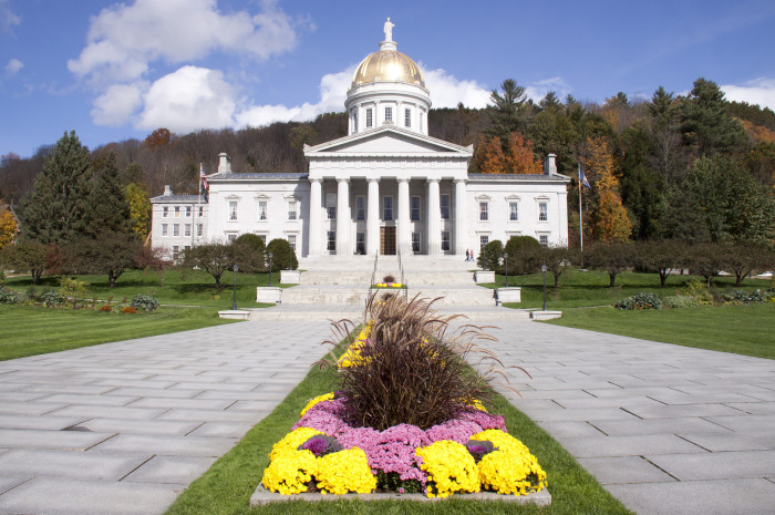 6.  Explore Vermont history in the State Capital of Vermont, Montpelier.