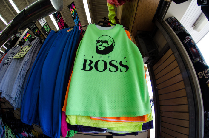 3. They're wearing a neon shirt purchased straight from the OC boardwalk.