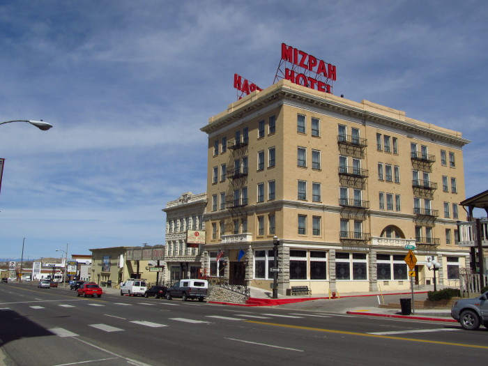 11. Book a room at the Mizpah Hotel - one of Nevada's most haunted hotels.
