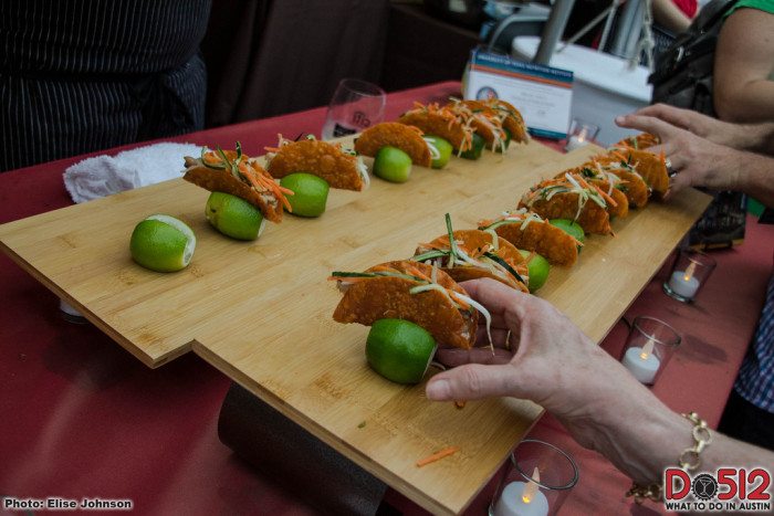 13. Austin Food and Wine Festival brings the best of the best chefs locally and around the world to the city. Enjoy avant garde dishes, drinks, and live music.