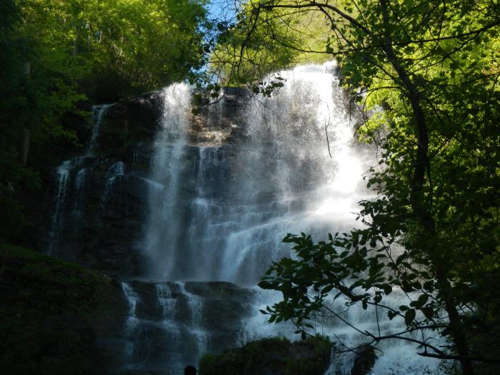 1. Hike to a waterfall.