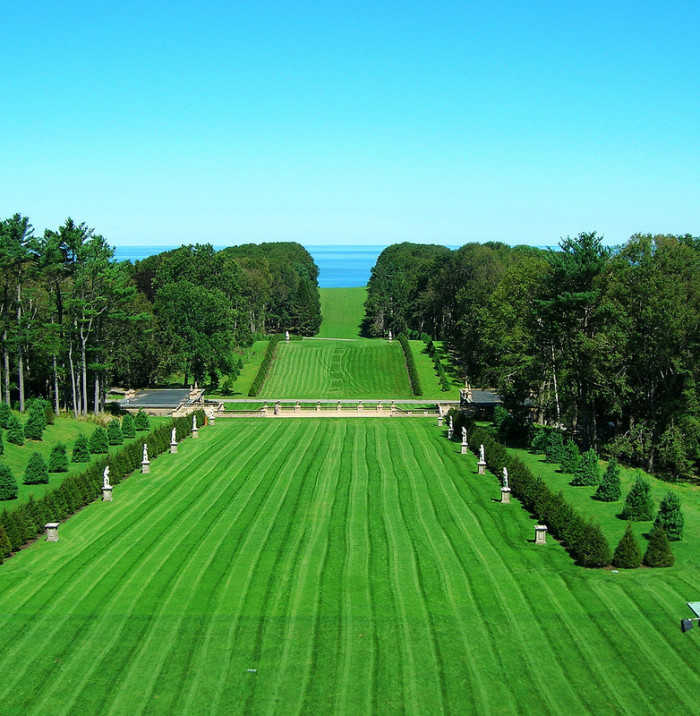 11. The Crane Estate on Castle Hill in Ipswich serves up sweeping ocean views and dramatic landscaping. If you're looking to capture some regal engagement photos, this place is your best bet.