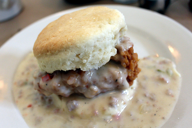 1. NOTHING beats southern cooking. Buttered, fried, topped with gravy...it's delicious for a reason.
