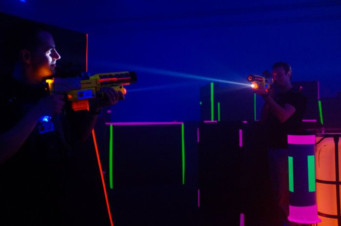 3. Laser Tag