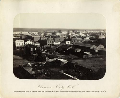 17.) Cherry Creek (c. 1864).