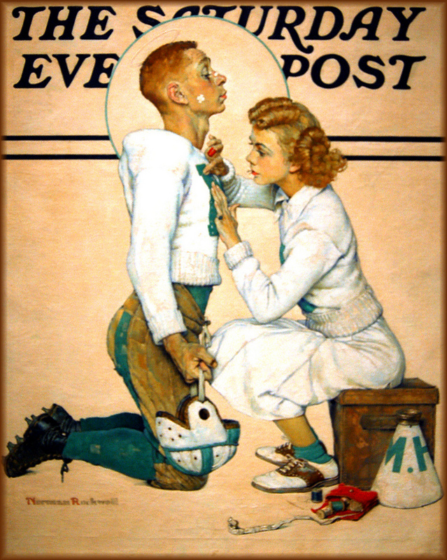 16.  Norman Rockwell