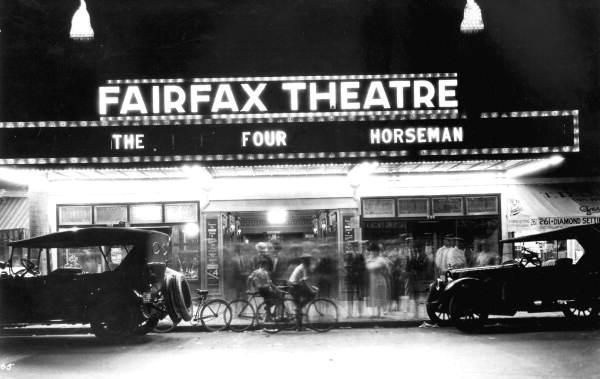 Fairfax Theatre on East Flagler Street: Miami