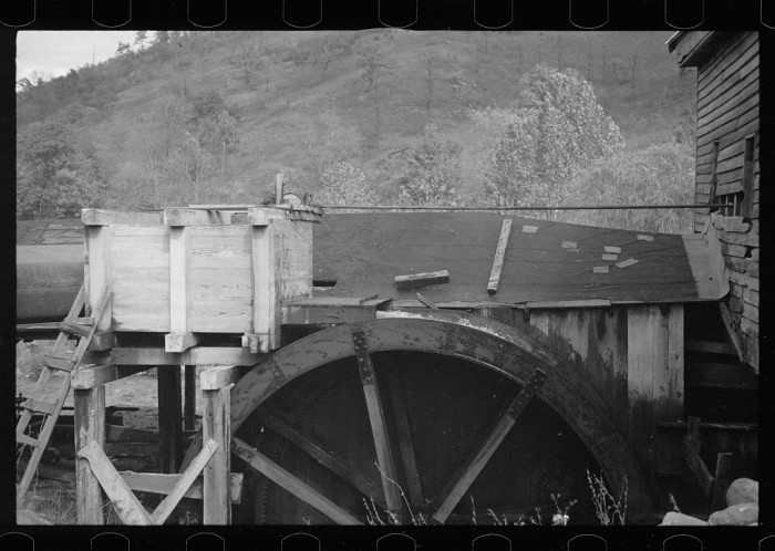 4. Mills and waterwheels